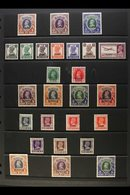 CHAMBA  1938-47 MINT KGVI COLLECTION On A Stock Page. Includes 1942-47 1r, 2r & 5r, White Background Issue Range To 14a, - Unclassified