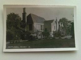 Black & White  Postcard -  Prittlewell  Priory - England