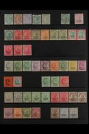 PATIALA  1884-1939 MINT COLLECTION On Stock Pages, Includes 1884 Set To 4a (trimmed Perfs At Top) & 1r (small Part Og),  - Unclassified