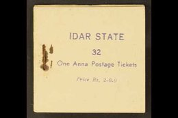 IDAR  1944 2r Complete BOOKLET Containing 1a (x32) In Panes Of 4, SG 4, Good Condition, Stained Around Staple As Usual.  - Unclassified