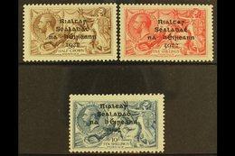 1922  Dollard Seahorses Set, SG 17/21, Fine Mint, The 5s On Pseudo-laid Paper. (3) For More Images, Please Visit Http:// - Non Classés