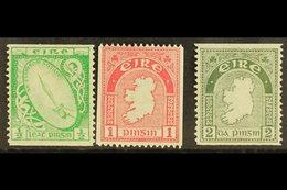 1934 COIL STAMPS  ½d, 1d And 2d, SG 71a, 72c, 74a, Fine Mint, The 1d Nhm. (3) For More Images, Please Visit Http://www.s - Non Classés