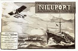"PUB   HYDROAEROPLANE   ""NIEUPORT ""  1913 - Transportation"