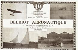 """PUB  AERONAUTIQUE  """" BLERIOT """"  1913 - Transportation"""