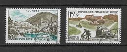 France Timbres De 1958  N°1150 Et 1151  Oblitéré - Used Stamps