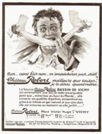 "PUB  BOISSONS "" CHATEAU-ROBERT "" VICHY-ST- YORRE   1913 ( 1 ) - Other"