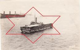Photo 14-18 BREST - Troupes Américaines Débarquant Du USS Imperator (SS), Paquebot (A210, Ww1, Wk 1) - Steamers