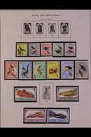 1901-1995 ALL DIFFERENT COLLECTION.  A Useful,ALL DIFFERENT Mint & Used Collection On Printed Pages With A Useful Range - Papua New Guinea
