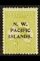 1915 - 16  3d Greenish Olive, Die I, SG 76c, Very Fine And Fresh Mint. Scarce Stamp. For More Images, Please Visit Http: - Papua New Guinea