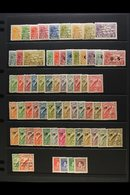 1925 - 1935 FINE MINT SELECTION  Lovely Fresh Range Of Mint Stamps With 1925 Native Village Set To 5s, 1925 OS Official  - Papua New Guinea
