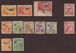 1925-34  A Useful Fine Used Range Incl. 1931 Village Air 2s, 1932-34 10s Etc. (12 Stamps) For More Images, Please Visit  - Papua New Guinea