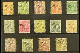 1932-34  AIR Set To 5s, SG 190/201, Good To Fine Used. (14 Stamps) For More Images, Please Visit Http://www.sandafayre.c - Papua New Guinea