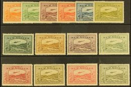"""1939  Air """"Airmail Postage"""" Set Complete, SG 212/25, Mint Lightly Hinged (14 Stamps) For More Images, Please Visit Http - Papua New Guinea"""