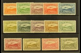 1939  Airmail Set Complete, SG 212/5, Very Fine And Fresh Mint. (14 Stamps) For More Images, Please Visit Http://www.san - Papua New Guinea