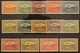 """1939  Bulolo Goldfields """"Airmail"""" Postage Set, SG 212/25, Very Fine Mint, Lightly Hinged Only (14 Stamps). For More Imag - Papua New Guinea"""