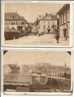Aubonne VD Suisse, Photos Cartonnées De Magnenat Bière (622-623) Endommagées 10.5x16.5 - Lieux