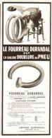 """PUB FOURREAU    """" DURANDAL """"   1913 ( 1 ) - Transportation"""