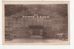 "CARTE PUBLICITAIRE - DINARD - GARAGE AUTOMOBILE - LA BONNE ETAPE ""GARAGE DE LA MER"" - 87 BLD ALBERT LACROIX - DINARD -35 - Dinard"
