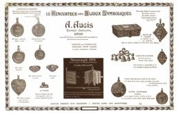 "PUB MEDAILLES   "" A. AUGIS ""   1913 ( 5 ) - Bijoux & Horlogerie"