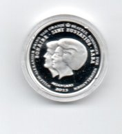BONAIRE SINT EUSTATIUS SABA 1 DOLLAR 2013 ZILVER PROOF DUBBELPORTRET - Monnaies
