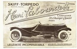 """PUB VEHICULES """" HENRI LABOURDETTE """" 1913 ( 2 ) - Cars"""
