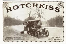 "PUB VEHICULES "" HOTCHKISS ""  1913 ( 5 ) - Transportation"