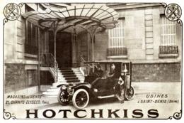 "PUB VEHICULES "" HOTCHKISS ""  1913 ( 6 ) - Transportation"