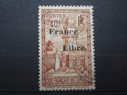 VEND BEAU TIMBRE DE LA COTE FRANCAISE DES SOMALIS N° 214 !!! - Französich-Somaliküste (1894-1967)