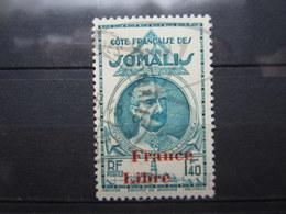 VEND BEAU TIMBRE DE LA COTE FRANCAISE DES SOMALIS N° 222 !!! - Côte Française Des Somalis (1894-1967)