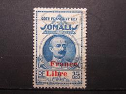VEND BEAU TIMBRE DE LA COTE FRANCAISE DES SOMALIS N° 227 !!! - Côte Française Des Somalis (1894-1967)