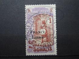 VEND BEAU TIMBRE DE LA COTE FRANCAISE DES SOMALIS N° 193 !!! - Côte Française Des Somalis (1894-1967)
