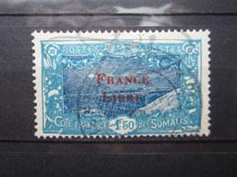 VEND BEAU TIMBRE DE LA COTE FRANCAISE DES SOMALIS N° 202 !!! - Côte Française Des Somalis (1894-1967)