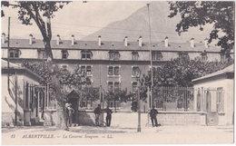 73. ALBERTVILLE. La Caserne Sougeon. 17 - Albertville