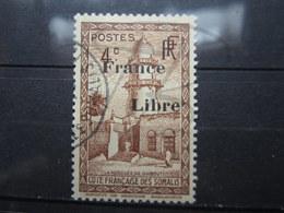 VEND BEAU TIMBRE DE LA COTE FRANCAISE DES SOMALIS N° 206 !!! - Côte Française Des Somalis (1894-1967)