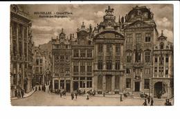 CPA - Carte Postale-Belgique - Bruxelles-- Grand Place-Maisons Des Brasseurs  VM2485 - Monuments, édifices