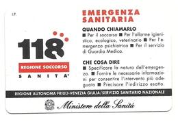 Italia - Tessera Telefonica Da 5.000 Lire N. 241 - 31/12/94 Emergenza - Italia
