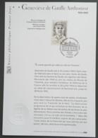 FDC Sur Document - YT N°3544 - Geneviève De Gaulle Anthonioz - 2003 - FDC