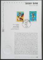 FDC Sur Document - YT N°3546, 3547 - Fête Du Timbre / Lucky Luke - 2003 - FDC