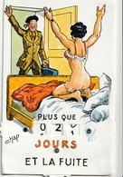 Illustrateur - Jean CHAPERON - Carte à Système Militaria - Plus Que ...Jours Et La Fuite - Chaperon, Jean