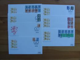 Great Britain  QE FDC1984-1985-1986 New Definitive Stamps Edinburg - FDC