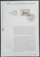 FDC Sur Document - YT N°3557 - Porte Avions Charles De Gaulle - 2003 - FDC