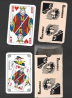 PLAYING CARDS JEU De 32 CARTES A JOUER ETS ROCAMBOLE  BRIDGE 2 Jockers MUNDI TURNHOUT BELGIUM - Trading Cards