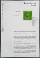 FDC Sur Document - YT N°3569 - Anniversaire / Marsupilami - 2003 - FDC