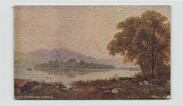 GRANDE BRETAGNE LOCH LEVEN AND CASTLE - Kinross-shire