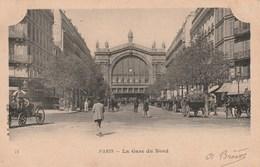 PARIS La Gare Du Nord 162L - Métro Parisien, Gares