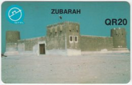 QATAR A-039 Magnetic - Culture, Castle - Used - Qatar