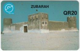 QATAR A-092 Magnetic - Culture, Castle - Used - Qatar