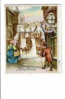 CPA - Carte Postale-Belgique -Lettre Pliée En 4- Bonne Année  1945 - VM2488 - Nouvel An