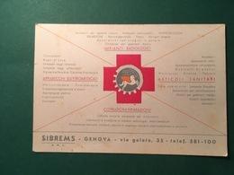 Cartolina Apparecchi Elettromedicali - Impianti Radiologici - 1930 Ca. - Pubblicitari