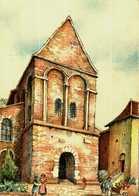 Carte Postale - Barré & Dayez  2191 B   SAINT-DIE    Notre-Dame De Galilée - Illustrateurs & Photographes